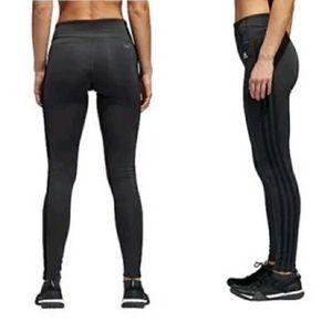 Adidas three stripe climalite leggings
